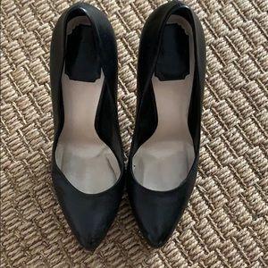 Dior Black Leather Pumps size 39